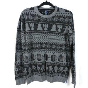 Doctor Who Sweater Large Fair Isle Dalek Cybermen